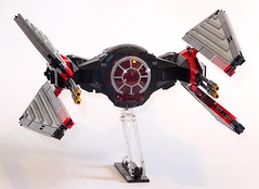 TIE Savager (Librarian-Bot) Tags: starwars moc lego forceawakens spacefighter starfighter kyloren firstorder