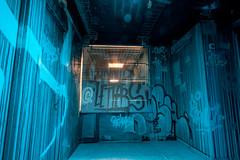 Sombre couloir (tangi_bertin) Tags: maisondesélèvesingénieursartsetmétiers rehab2 artsetmétiers cité citéinternationaleuniversitairedeparis graffiti grafitty rehab streetart streetartparis