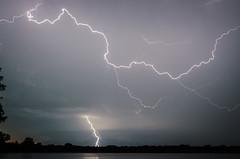 Lightning (corkemup52) Tags: lightning lake rockfordlake beatrice nebraska nature nikond7000 nikon18200mm outdoors sky storm stormy nebraskathunderstorms