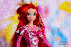 Ariel (Lindi Dragon) Tags: doll disney disneyprincess mattel ariel pink dress handmade