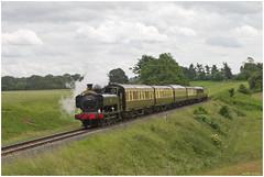 7714 climbing Eardington Bank, Severn Valley Railway (Keith Halton) Tags: svr severnvalleyrailway bridgnorth eardington gwr steam railway shropshire