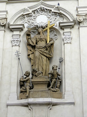 Lesser Town Square #4 (jimsawthat) Tags: statue church urban lessertown prague czechrepublic architecture architecturaldetails