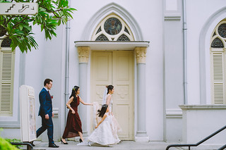 CHIJMES Singapore Wedding Day Photography
