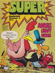 Super Nr. 9 (micky the pixel) Tags: comics comic heft moewigverlag mondogiovane super sonderheft ramses teufel devil huhn wurm worm funny humor
