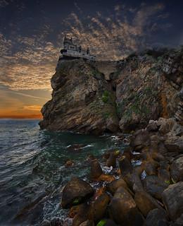 Sunrise. Crimea.