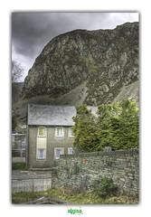 BLAENAU FFESTINIOG (3) (régisa) Tags: blaenau ffestiniog gwynedd wales galles cymru snowdonia slate ardoise street