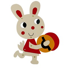 Cute Easter Bunny Painting Decoration Rabbit Cardboard Craft Kids Draw Art Set Drawing Educational Toy Children Paint Games Gift (1) (papermakertoys) Tags: cute easter bunny painting decoration rabbit cardboard craft kids draw art set drawing educational toy children paint games gift