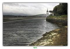 PORTMEIRION - ESTUARY OF THE DWYRYD (2) (régisa) Tags: estuary dwyrid gwynedd wales galles cymru portmeirion quayside coast phare observatory tower