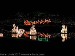 20031220 Bellingrath Xmas 0020 Swans.jpg (Alan Louie - www.alanlouie.com) Tags: bellingrath christmas alabama theodore unitedstates us