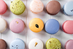 Traditional colorful french macarons (lyule4ik) Tags: food cake french macaroon sweet biscuit snack delicious cookie dessert france tasty traditional color bakery gourmet flavor chocolate background pink confectionery brown cuisine row coffee assorted green yellow assortment colorful confection nobody orange pastry candy sugar box bake calories closeup gastronomy horizontal lemon pistachio sandwich specialty strawberry