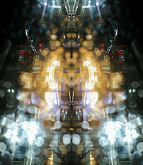 CapipaC (Symic) Tags: andréswilliamolsenrodriguez symmetry lights water drip drop rain cold cool night dark street neon bright sparkle twinkle utah salt lake city downtown animism reflect capitol theater