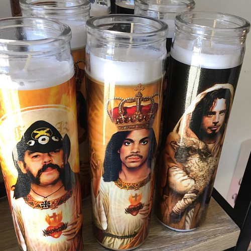Praises. @chriscornellofficial #prince #lemmy