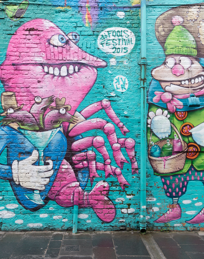 STREET ART AND GRAFFITI IN BELFAST [ANYTHING BUT THE FAMOUS MURALS]-129162