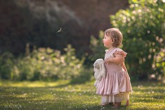 Pure cuteness (Aga Wlodarczak) Tags: child children girl baby toddler outdoor naturallight butterfly 6d canon6d 135mmf2 135mm summer spring