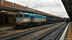 Occhialuta in manovra (nlovato96) Tags: urlaubsexpress verona hamburg d753 733 rtc railtractioncompany db dbci dbcargoitalia air arriva italia rail