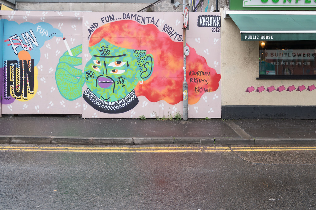 STREET ART AND GRAFFITI IN BELFAST [ANYTHING BUT THE FAMOUS MURALS]-129144