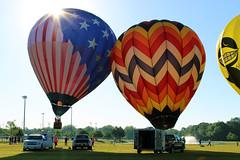 Gulf Coast Hot Air Balloon Festival - Foley, Alabama (fisherbray) Tags: fisherbray usa unitedstates alabama baldwincounty foley canon eosrebel eosrebelt6 gulfcoasthotairballoonfestival balloon hotairballoon sportscomplex