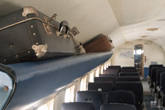 Once upon a time in a plane... (Tony Kanev) Tags: rood old oldfashioned plane time outdated luggage rust suitcase broken shaded worn damaged documentary travel airplane