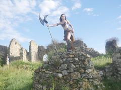 Shooting Skyrim - Ruines d'Allan -2017-06-03- P2090585 (styeb) Tags: shoot shooting skyrim allan ruine village drome montelimar 2017 juin 06 cosplay