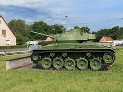 M24 Chaffee Camp militaire d'Oberhoffen (270862) Tags: m24 panzer tank oberhoffen
