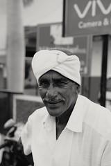 happy  man (Rajavelu1) Tags: blackandwhitephotography streetphotography street candidstreetphotography candidportraitphotography man smile mustache turban bw canon60d visualart creative india