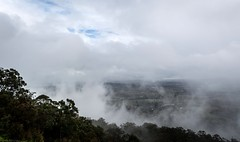 Tamborine clouds (dustaway) Tags: landscape weather australianlandscape australianweather winter view outlook tamborinemountain mounttamborine albertvalley clouds cloudscape forest mountainside valley glimpse sequeensland queensland australia