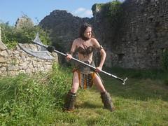 Shooting Skyrim - Ruines d'Allan -2017-06-03- P2090621 (styeb) Tags: shoot shooting skyrim allan ruine village drome montelimar 2017 juin 06 cosplay