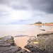 Bamburgh Beach and Castle (johnlgardiner) Tags: bamburgh castle beach ocean sea sand rocks