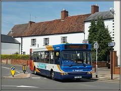 34818, Oxford Street (Jason 87030) Tags: stagecoach dennis dart oxfordstreet newstreet daventry northants northamptonshire weather town centre midlands uk england 34818 px06dwd june 2017