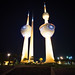 Kuwait City at Night - Kuwait Towers