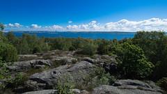 Rocky Clouds (juliolunap) Tags: outdoors archipielago nature goteborg gothemburg sweden sverige bluesky blue water islands island aspero