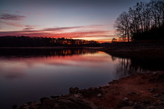 Reflections of Twilight (John Cothron) Tags: 3stopneutraldensityfilter 5dmarkii 5d2 5dii 5dmkii americansouth canoneos5dmkii cothronphotography distagon2128ze distagont2821ze dixie gainesville georgia hallcounty johncothron keithbridgepark lakelanier lee90nd leefiltersystem southatlanticstates southernregion thesouth us usa unitedstatesofamerica zeissdistagont2821ze clearweather cold dawn drought lakeshore landscape longexposure lowwaterlevel morninglight outdoor outside reflection rock scenic sky sunrise twilight winter img14330170105 ©johncothron2017 reflectionsoftwilight
