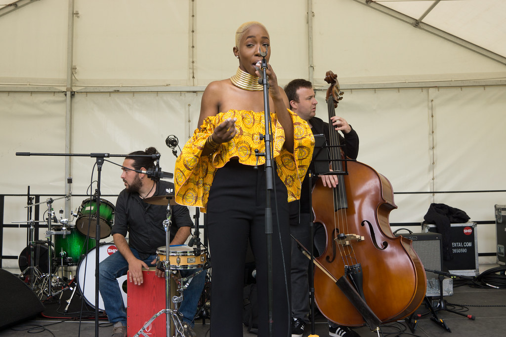 NC GREY IS A SOUL SINGER SONGWRITER [SHE PERFORMED AGAIN AT AFRICA DAY IN DUBLIN]-128595