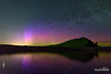 Lake DeSmet Aurora (kevin-palmer) Tags: aurora auroraborealis northernlights geomagneticstorm pillars colorful color north green purple lakedesmet wyoming reflection mirror night sky stars starry astronomy astrophotography may spring capella red tamron2470mmf28 nikond750 astrometrydotnet:id=nova2082395 astrometrydotnet:status=failed