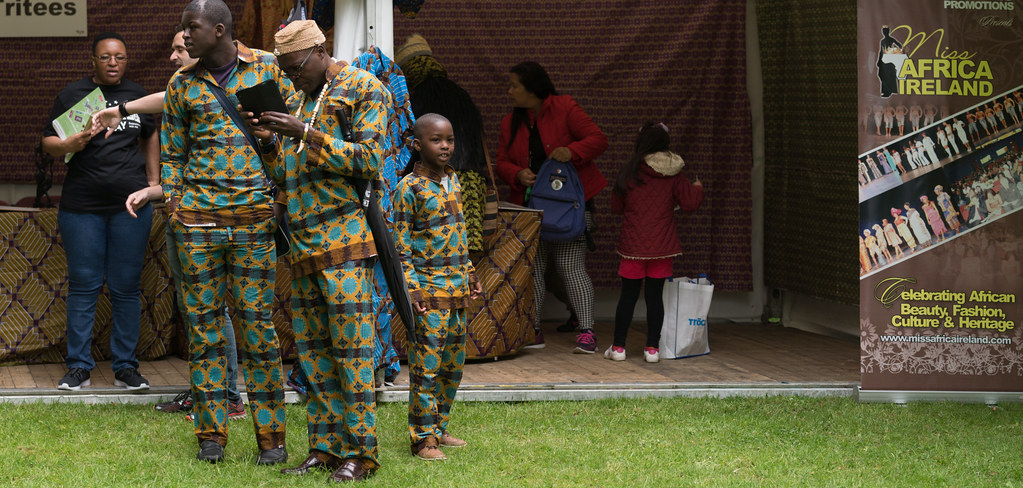 TRYING TO BLEND IN [AFRICA DAY 2017 IN DUBLIN]-128872