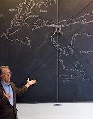 Kim Stanley Robinson at The Interval, May 02017 (Long Now) Tags: longnow conversationsattheinterval interval events 02017 ksr kimstanleyrobinson sciencefiction science scifi climate newyork2140 books author chalkboard chalk otto