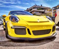 Gt3rs (ioriogiovanni10) Tags: gialla super gt3 porschegt3rs supercar yellow porsche