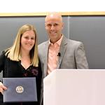 Sophie Leib, Charles Eriksen Award; Professor Daniel Simons