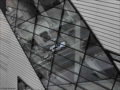 Reflections in Glass (John Neziol) Tags: jrneziolphotography toronto torontoontario rom reflections glass reflectionsinglass architecture building lines structure