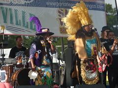 Caesar Brothers' Funkbox featuring Big Chief Juan Pardo