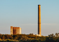 Power Plant (Anthony Pipe) Tags: red canon7d florida sunset beach gulfofmexico newportrichey anclote pier boats