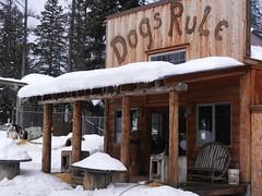 Cabin exterior (lmundy2002) Tags: dogs dogsled dogsledding huskies sleds whitefish olney whitefishmt olneymt montana mt winter wintersports