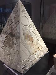Pyramidion of Ramose (radiowood) Tags: pyramidion ramose horus tomb deir emedina valley kings egypt turin museum italy