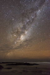 Milky Way over Jarvis Bay (Glenn Radford GRP) Tags: milky way jarvis bay australia stars starlight new south wales glennradford constellations beach coast ocean sea nightscapes starry longexposure 2017 astrophotography night sky clearsky nikond800 24mm stock photography