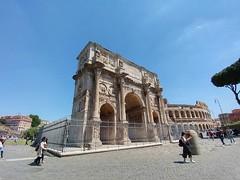 Arco de Constantino, Roma, Italia (javiercarmonareina) Tags: antigüedad imperioromano monumento emperador antiquity romanempire monument emperor
