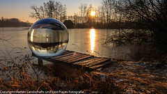 Projekt Felix (Matten Landschafts und Lost Places Fotografie) Tags: canon countryside country deutschland digital eos fun flickr germany hücker heimalt lightroom natur nature nrw nice naturaleza outdoor glaskukel moor landschaft landscape sonnenaufgang sunrise spenge sonne sun glass sphere glassphere