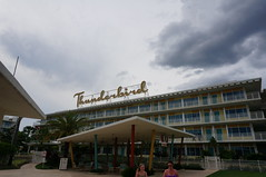 "The Thunderbird building of Cabana Bay • <a style=""font-size:0.8em;"" href=""http://www.flickr.com/photos/28558260@N04/34737693746/"" target=""_blank"">View on Flickr</a>"