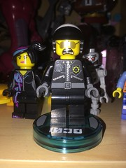LEGO Dimensions Bad Cop (splinky9000) Tags: kingston ontario the lego movie dimensions bad cop wyldstyle toys minifigures skeletron