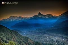 sarangkot- sunrise-1 logo (anindya0909) Tags: nepal sarangkot sunise sunrise