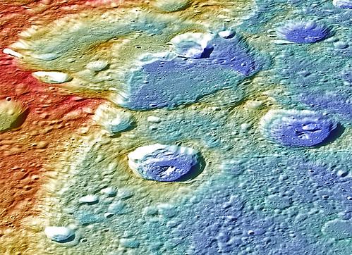 Carnegie Rupes and Duccio Crater